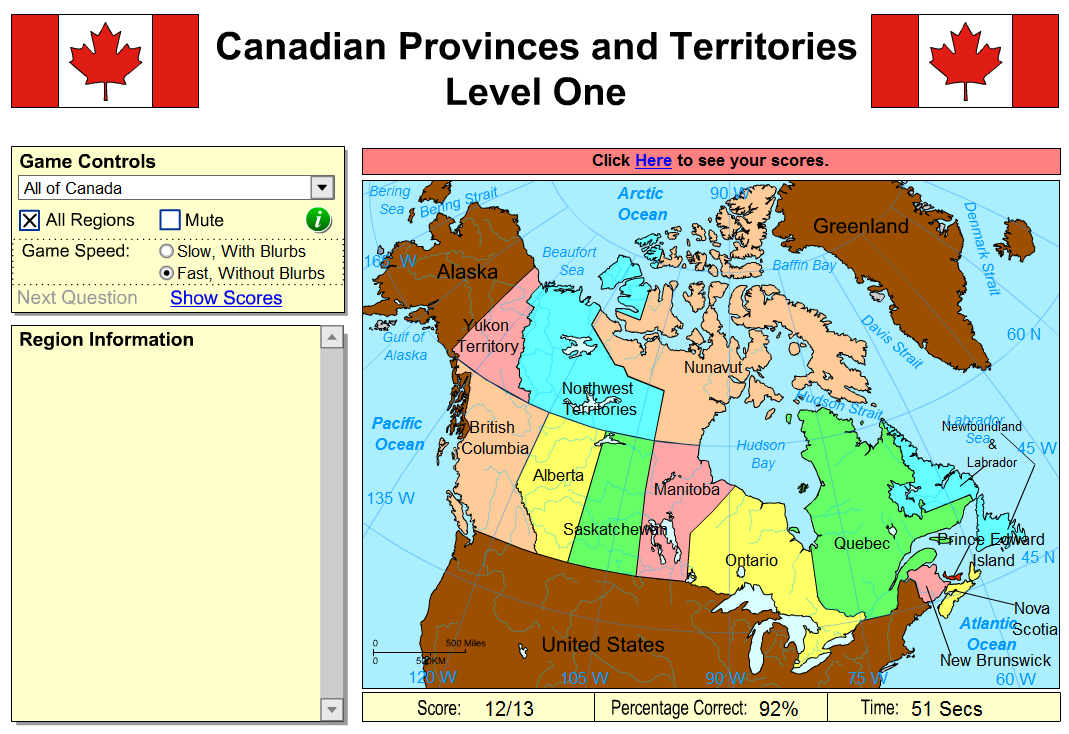 Sheppard Software Provinces Of Canada